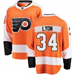 Alex Lyon Philadelphia Flyers Men's Fanatics Branded Orange Breakaway Home Jersey