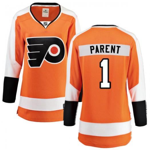 Bernie Parent Philadelphia Flyers Women's Fanatics Branded Orange Home Breakaway Jersey