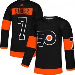 Bill Barber Philadelphia Flyers Men's Adidas Authentic Black Alternate Jersey