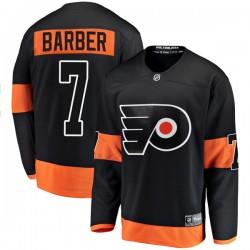 Bill Barber Philadelphia Flyers Men's Fanatics Branded Black Breakaway Alternate Jersey