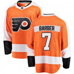 Bill Barber Philadelphia Flyers Men's Fanatics Branded Orange Breakaway Home Jersey