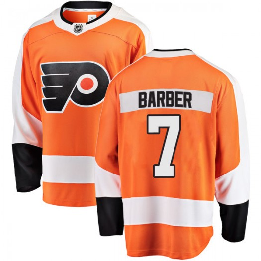 Bill Barber Philadelphia Flyers Youth Fanatics Branded Orange Breakaway Home Jersey