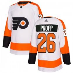 Brian Propp Philadelphia Flyers Men's Adidas Authentic White Jersey