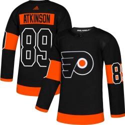 Cam Atkinson Philadelphia Flyers Men's Adidas Authentic Black Alternate Jersey