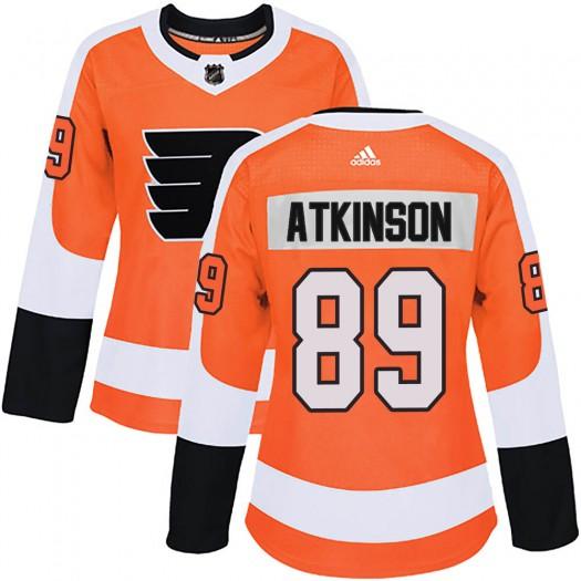Cam Atkinson Philadelphia Flyers Women's Adidas Authentic Orange Home Jersey