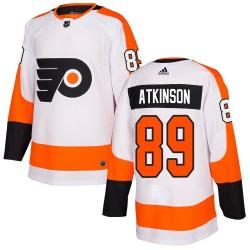 Cam Atkinson Philadelphia Flyers Youth Adidas Authentic White Jersey