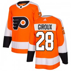 Claude Giroux Philadelphia Flyers Men's Adidas Authentic Orange Jersey