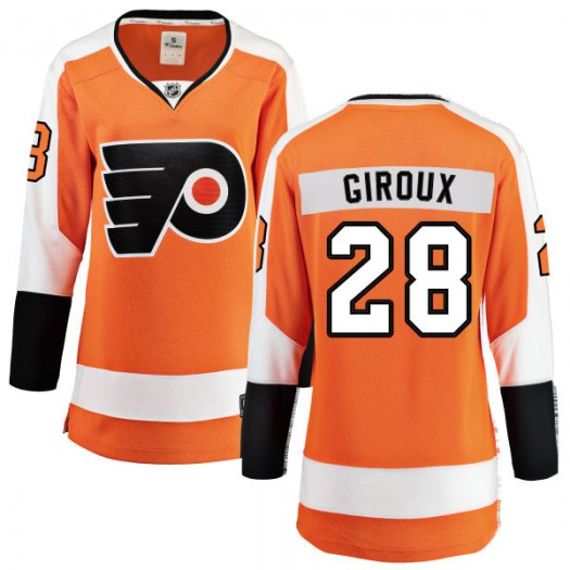 Claude Giroux Philadelphia Flyers Women's Fanatics Branded Orange Home Breakaway Jersey