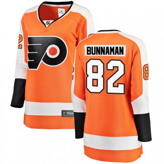 Connor Bunnaman Philadelphia Flyers Women's Fanatics Branded Orange Breakaway Home Jersey