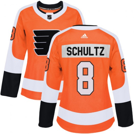 Dave Schultz Philadelphia Flyers Women's Adidas Authentic Orange Home Jersey