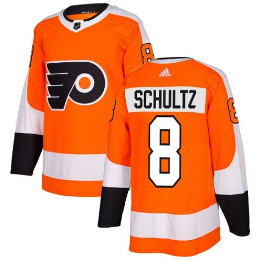 Dave Schultz Philadelphia Flyers Youth Adidas Authentic Orange Home Jersey