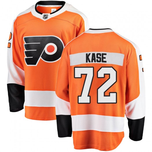 David Kase Philadelphia Flyers Youth Fanatics Branded Orange Breakaway Home Jersey