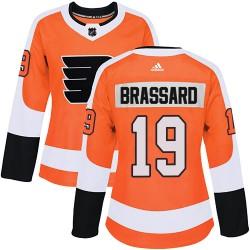 Derick Brassard Philadelphia Flyers Women's Adidas Authentic Orange Home Jersey