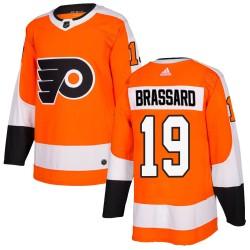 Derick Brassard Philadelphia Flyers Youth Adidas Authentic Orange Home Jersey