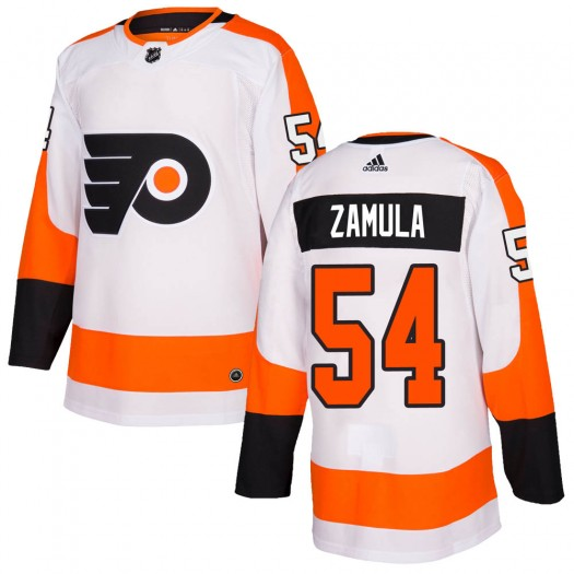 Egor Zamula Philadelphia Flyers Men's Adidas Authentic White ized Jersey