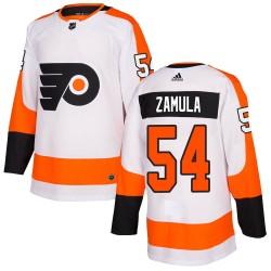 Egor Zamula Philadelphia Flyers Youth Adidas Authentic White ized Jersey