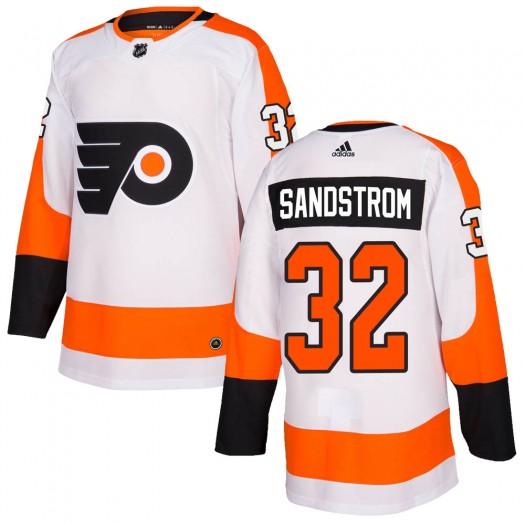 Felix Sandstrom Philadelphia Flyers Youth Adidas Authentic White Jersey
