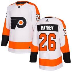 Gerald Mayhew Philadelphia Flyers Youth Adidas Authentic White Jersey