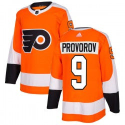 Ivan Provorov Philadelphia Flyers Men's Adidas Authentic Orange Jersey