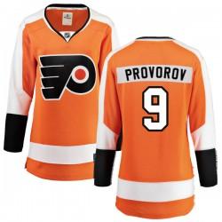 Ivan Provorov Philadelphia Flyers Women's Fanatics Branded Orange Home Breakaway Jersey