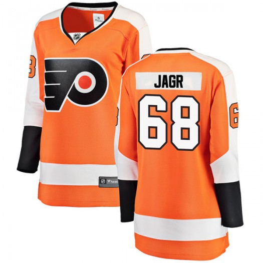 Jaromir Jagr Philadelphia Flyers Women's Fanatics Branded Orange Breakaway Home Jersey