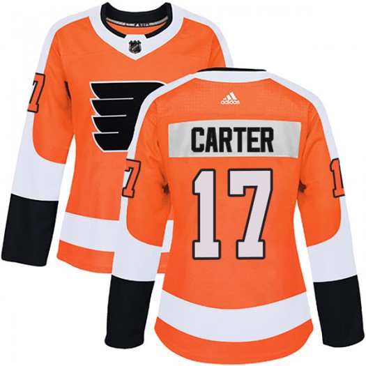 Jeff Carter Philadelphia Flyers Women's Adidas Authentic Orange Home Jersey