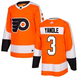 Keith Yandle Philadelphia Flyers Men's Adidas Authentic Orange Home Jersey