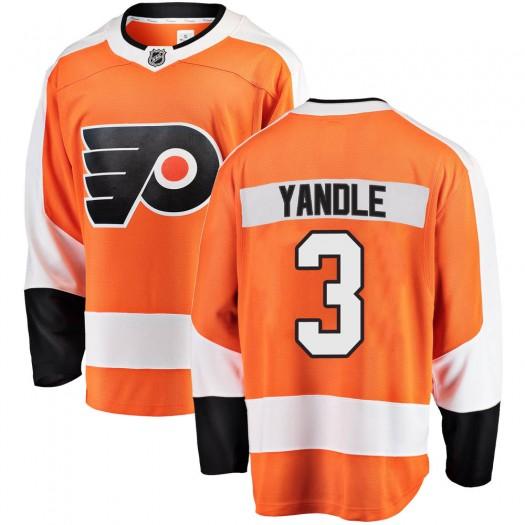 Keith Yandle Philadelphia Flyers Men's Fanatics Branded Orange Breakaway Home Jersey