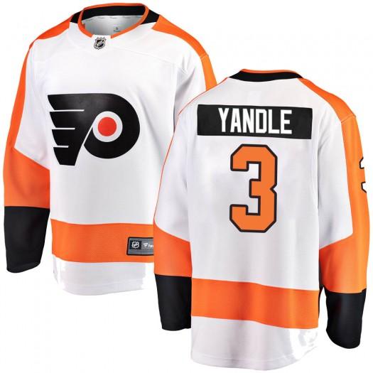 Keith Yandle Philadelphia Flyers Men's Fanatics Branded White Breakaway Away Jersey