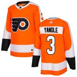 Keith Yandle Philadelphia Flyers Youth Adidas Authentic Orange Home Jersey
