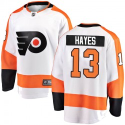 Kevin Hayes Philadelphia Flyers Men's Fanatics Branded White Breakaway Away Jersey