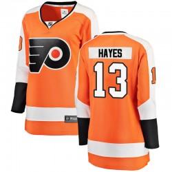 Kevin Hayes Philadelphia Flyers Women's Fanatics Branded Orange Breakaway Home Jersey
