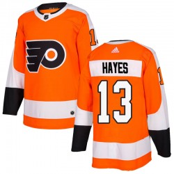 Kevin Hayes Philadelphia Flyers Youth Adidas Authentic Orange Home Jersey