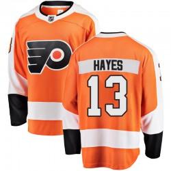 Kevin Hayes Philadelphia Flyers Youth Fanatics Branded Orange Breakaway Home Jersey