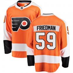 Mark Friedman Philadelphia Flyers Men's Fanatics Branded Orange Breakaway Home Jersey