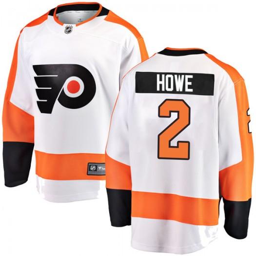 Mark Howe Philadelphia Flyers Men's Fanatics Branded White Breakaway Away Jersey