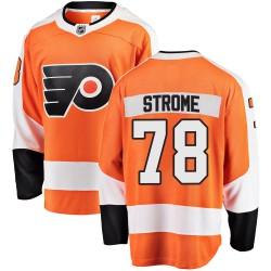Matthew Strome Philadelphia Flyers Men's Fanatics Branded Orange Breakaway Home Jersey