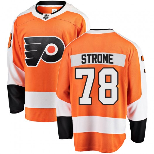 Matthew Strome Philadelphia Flyers Youth Fanatics Branded Orange Breakaway Home Jersey