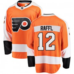 Michael Raffl Philadelphia Flyers Men's Fanatics Branded Orange Breakaway Home Jersey