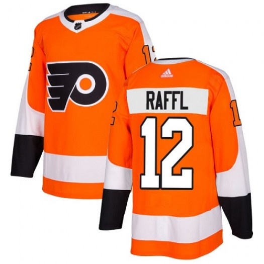 Michael Raffl Philadelphia Flyers Youth Adidas Authentic Orange Home Jersey