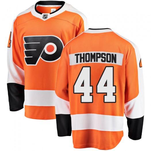Nate Thompson Philadelphia Flyers Men's Fanatics Branded Orange ized Breakaway Home Jersey