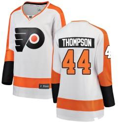 Nate Thompson Philadelphia Flyers Women's Fanatics Branded White ized Breakaway Away Jersey