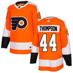 Nate Thompson Philadelphia Flyers Youth Adidas Authentic Orange Home Jersey