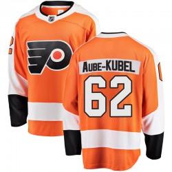 Nicolas Aube-Kubel Philadelphia Flyers Men's Fanatics Branded Orange Breakaway Home Jersey