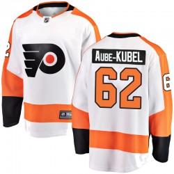 Nicolas Aube-Kubel Philadelphia Flyers Men's Fanatics Branded White Breakaway Away Jersey