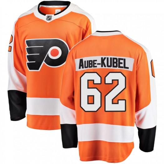Nicolas Aube-Kubel Philadelphia Flyers Youth Fanatics Branded Orange Breakaway Home Jersey