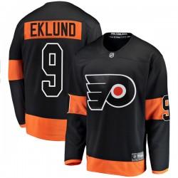 Pelle Eklund Philadelphia Flyers Men's Fanatics Branded Black Breakaway Alternate Jersey