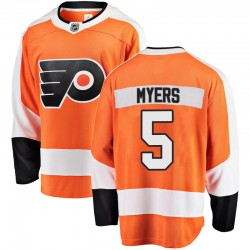 Philippe Myers Philadelphia Flyers Men's Fanatics Branded Orange Breakaway Home Jersey