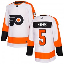 Philippe Myers Philadelphia Flyers Youth Adidas Authentic White Jersey