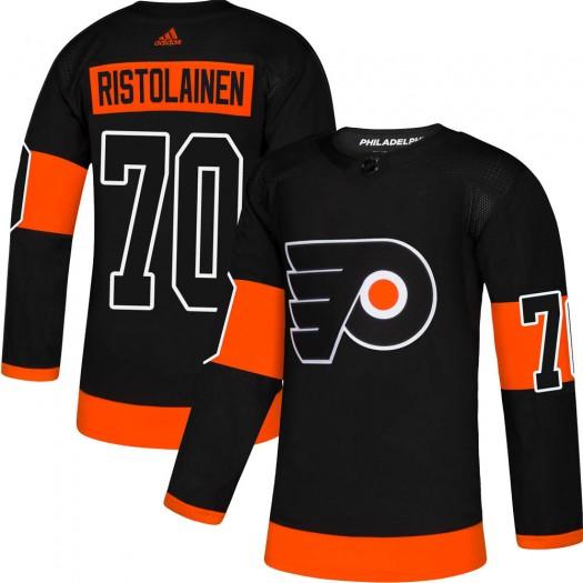 Rasmus Ristolainen Philadelphia Flyers Men's Adidas Authentic Black Alternate Jersey